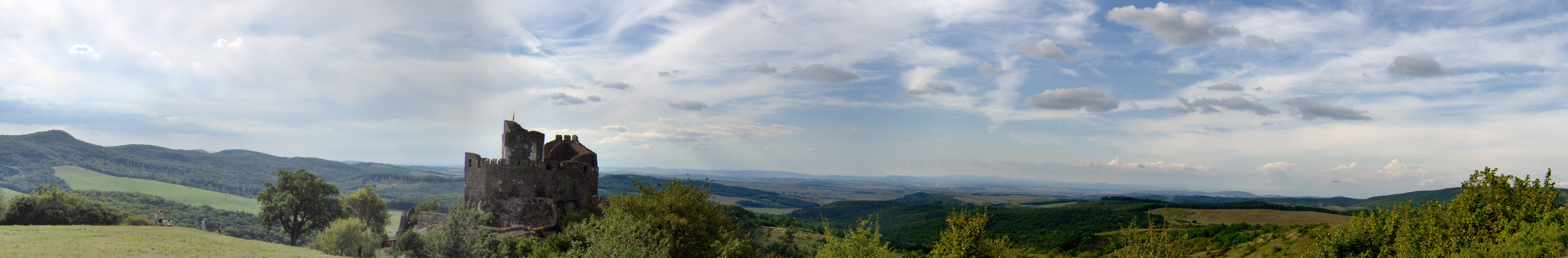 Hollókő-panorama
